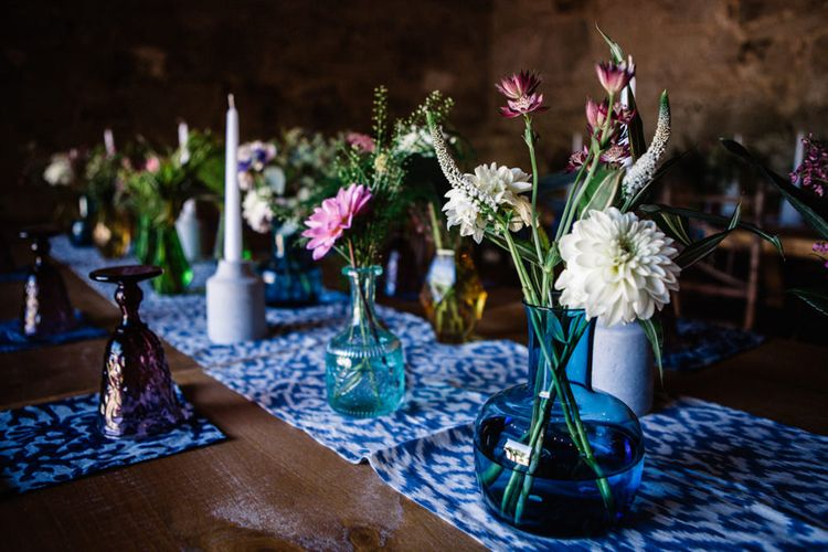 Vases filled with Flower Stems