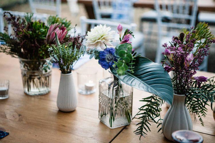 Mismatch Vase Table Centrepieces