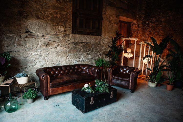 Stylish Lounge Area