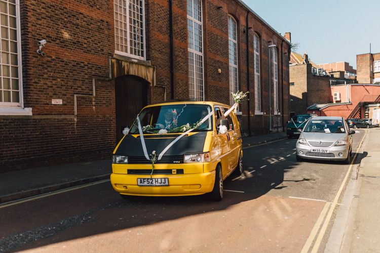 Wedding Transport | The Harbour Church Portsmouth Wedding | Emily & Steve Photography