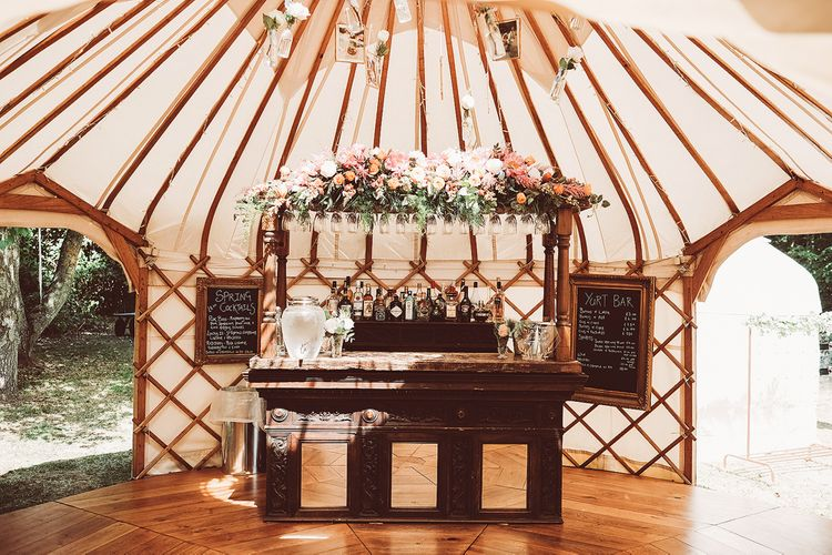 Yurt Wedding With Bride In Houghton & Images From Lemonade Pictures