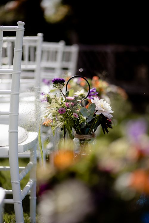 Wedding Chair Backs For Outside Ceremony