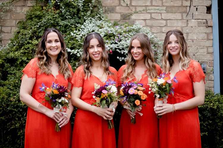 Red Bridesmaids Dresses From French Connection