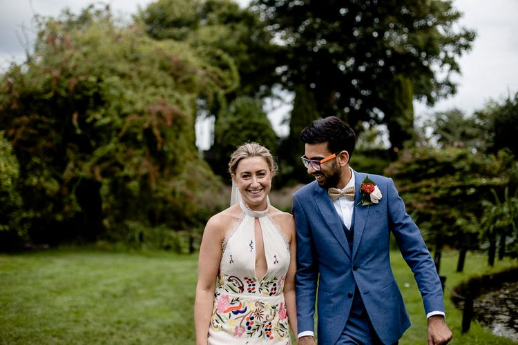 Outdoor Wedding Ceremony at South Farm