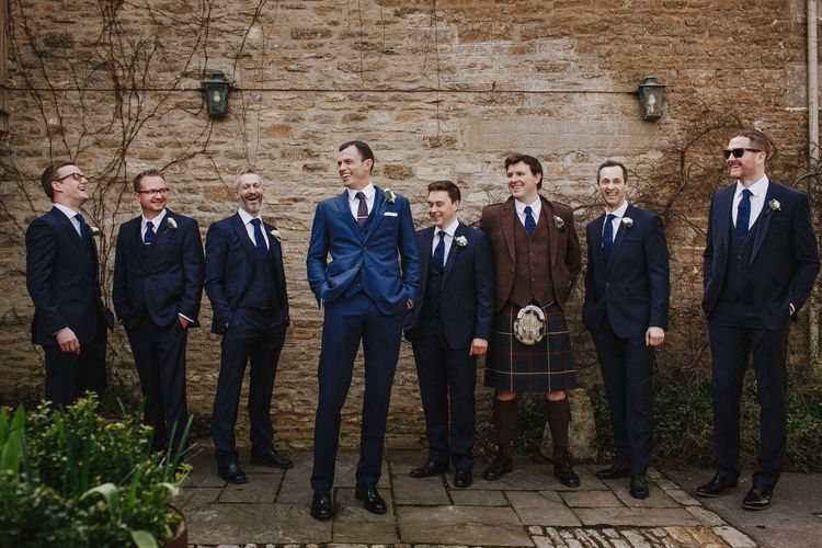 Groomsmen | Andy Gaines Photography | Thompson Granger Films