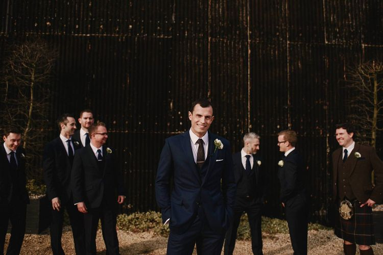 Groomsmen | Cripps Barn Wedding | Andy Gaines Photography | Thompson Granger Films