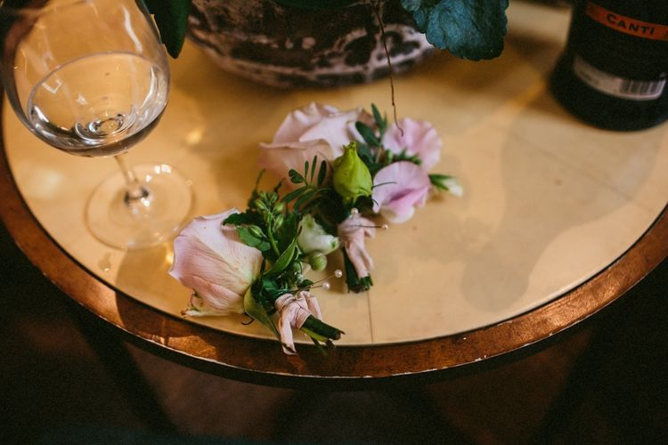 Delicate Buttonholes For Wedding