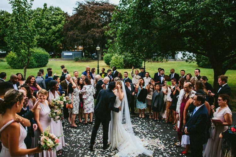 Bride & Groom Just Married