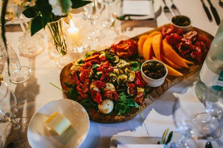 Sharing Platters At Wedding Details At Brixton East Wedding Venue