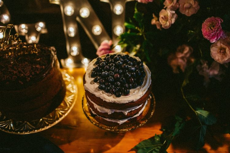 DIY Cake Table For Wedding