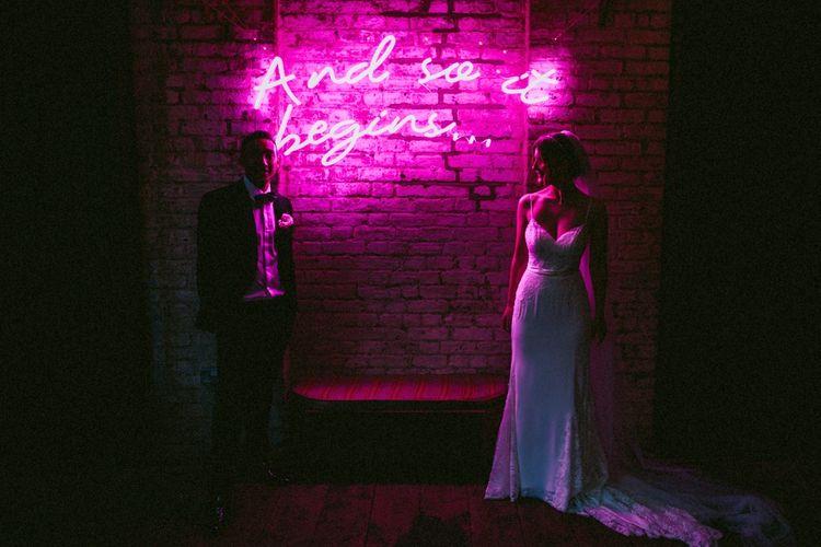 Neon Light For Weddings by Bag & Bones