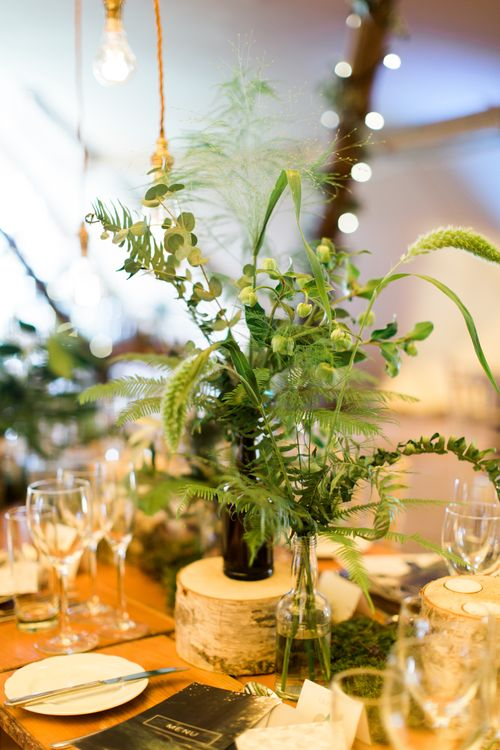 Greenery Filled Tipi Wedding in Cheshire