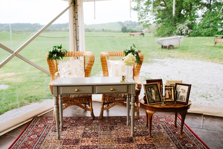 His & Hers Chairs For Wedding Ceremony