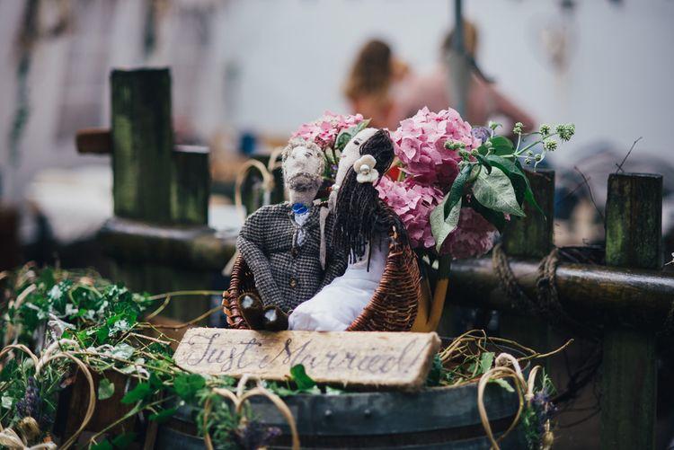 Rustic Wedding Decor | DIY Woodland Wedding in South Wales | Cat Beardsley Photography