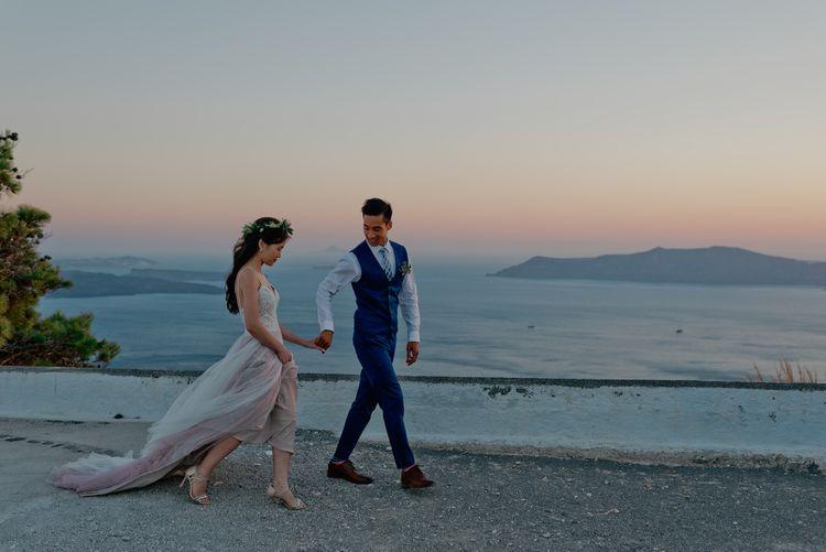 Coastal Wedding at Sunset