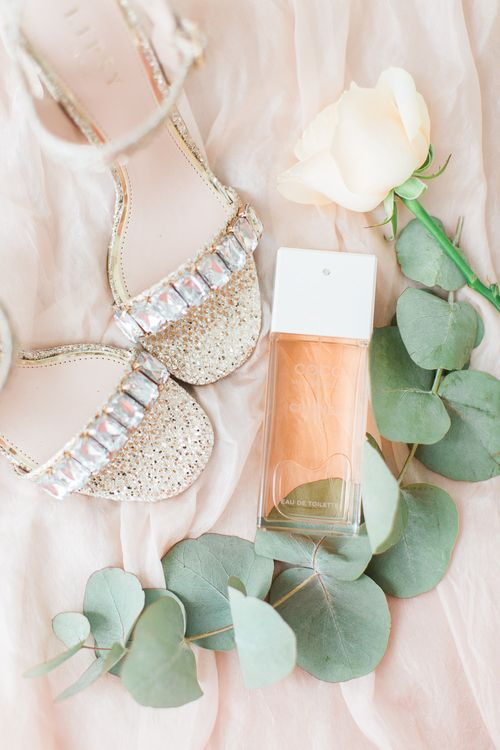 Lipsy Block Heel Bridal Shoes | Sung Blue Photography | ROOST Film Co.