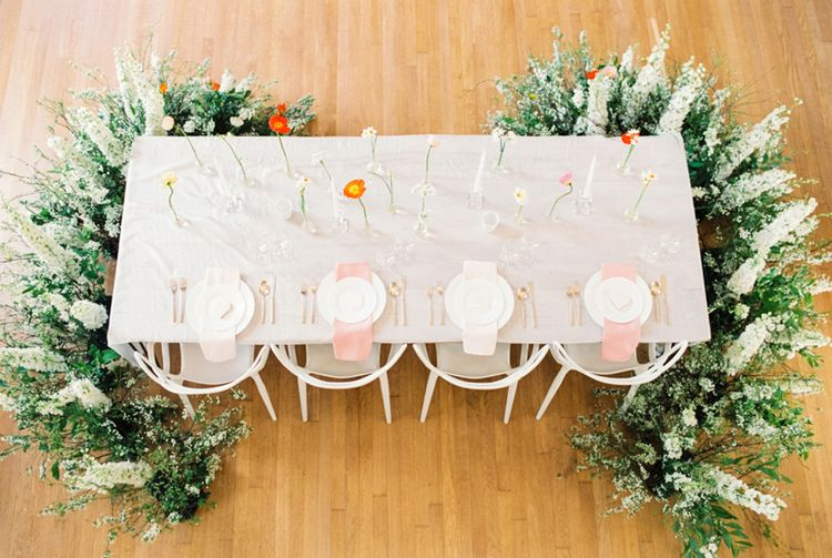 Tablescape | Elegant Wedding Inspiration at Cornwell Manor with Floral Design by Bramble and Wild | Bowtie & Belle Photography | Carmencita Film Lab | Baxter and Ted Films
