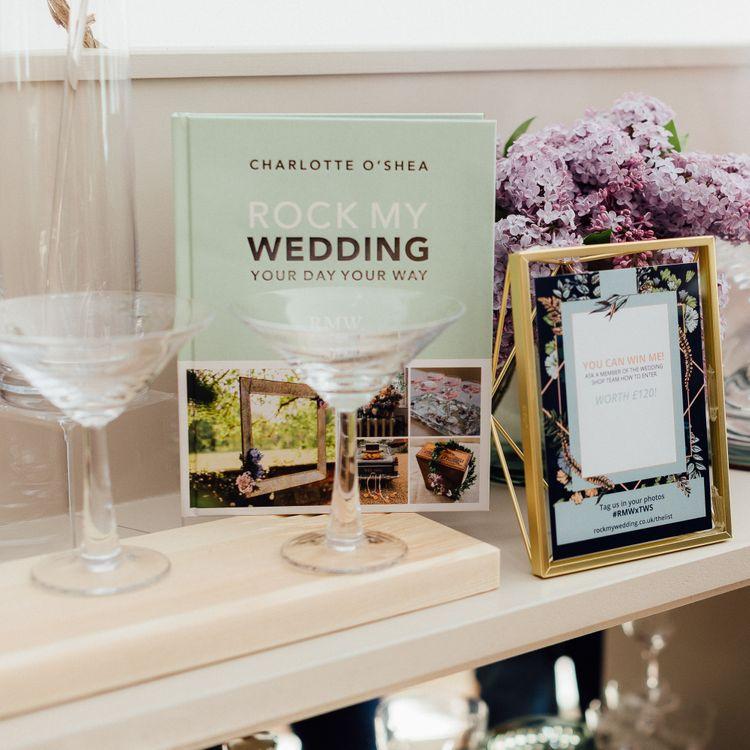 Rock My Wedding's Your Day Your Way Book // The Wedding Shop Showroom In Edinburgh // Gift List For Weddings Scotland // Wedding Gift List Provider With Showroom // The Best Wedding Gift List