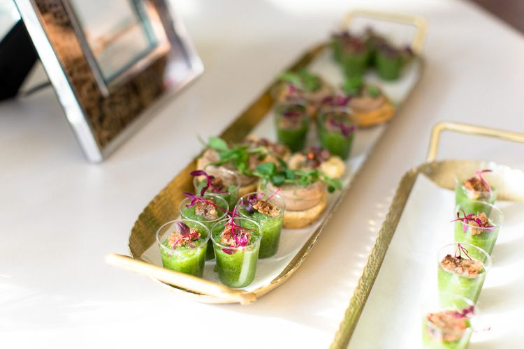 Canapes From The Pantry // The Wedding Shop Showroom In Edinburgh // Gift List For Weddings Scotland // Wedding Gift List Provider With Showroom // The Best Wedding Gift List