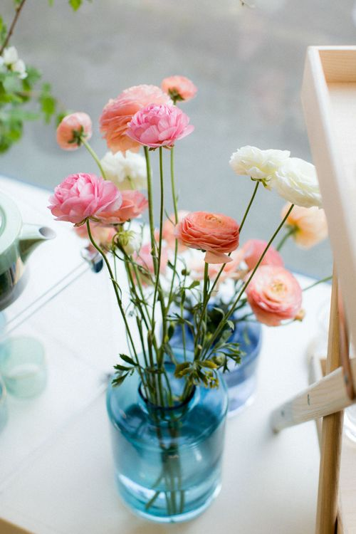 Ranunculus // The Wedding Shop Showroom In Edinburgh // Gift List For Weddings Scotland // Wedding Gift List Provider With Showroom // The Best Wedding Gift List