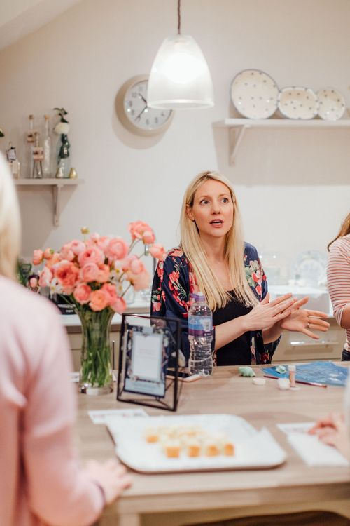 Cake Demonstrations With Liggy's Cakes // The Wedding Shop Showroom In Edinburgh // Gift List For Weddings Scotland // Wedding Gift List Provider With Showroom // The Best Wedding Gift List