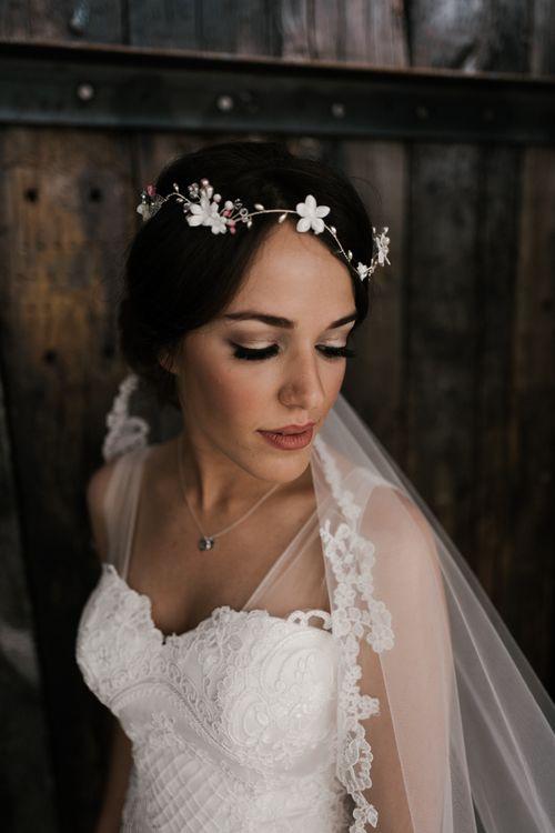 Beautiful Bridal Headwear | Owen House Wedding Barn | Joyce Young London | Damian Brandon