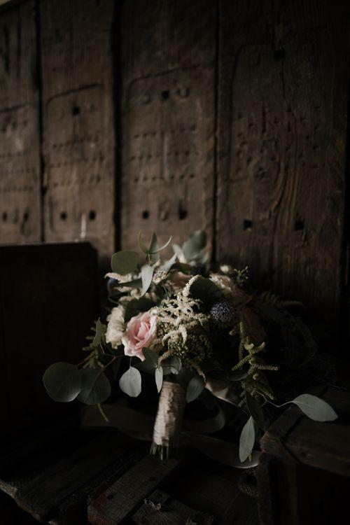 Details | Florals | Owen House Wedding Barn | Joyce Young London | Damian Brandon