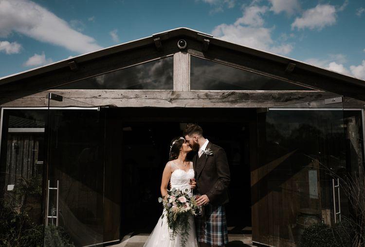 Married | Owen House Wedding Barn | Joyce Young London | Damian Brandon