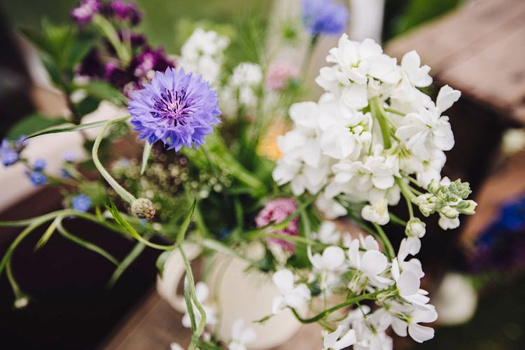 Wild Wedding Flowers | DIY At Home Marquee Wedding | J S Coates Wedding Photography