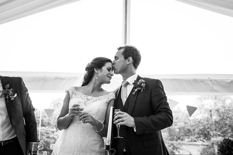 First Dance | DIY At Home Marquee Wedding | J S Coates Wedding Photography