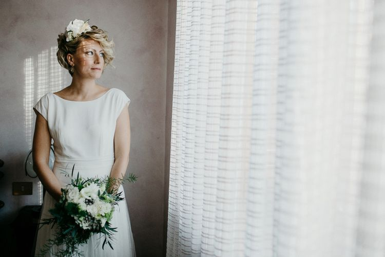 Bride in Rembo Styling Wedding Dress | That Day Wedding Planner | Carla Penoncelli Photography