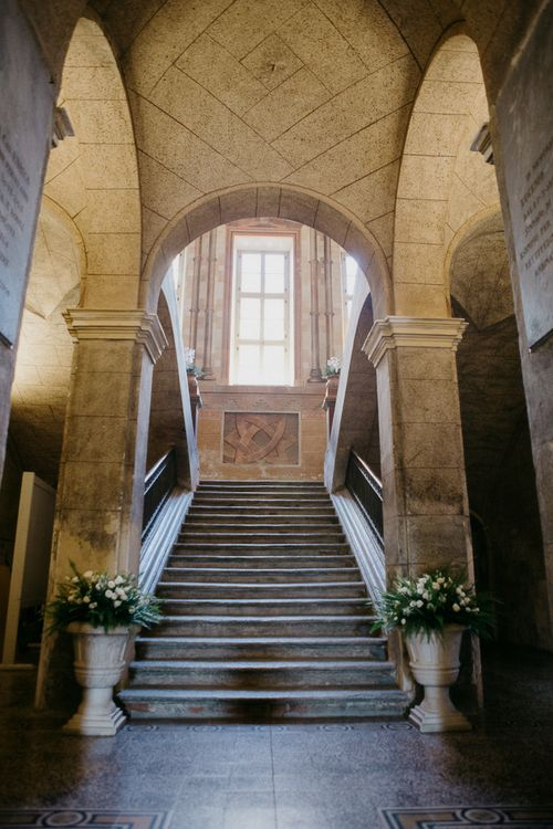 Italian Architecture Ceremony | That Day Wedding Planner | Carla Penoncelli Photography