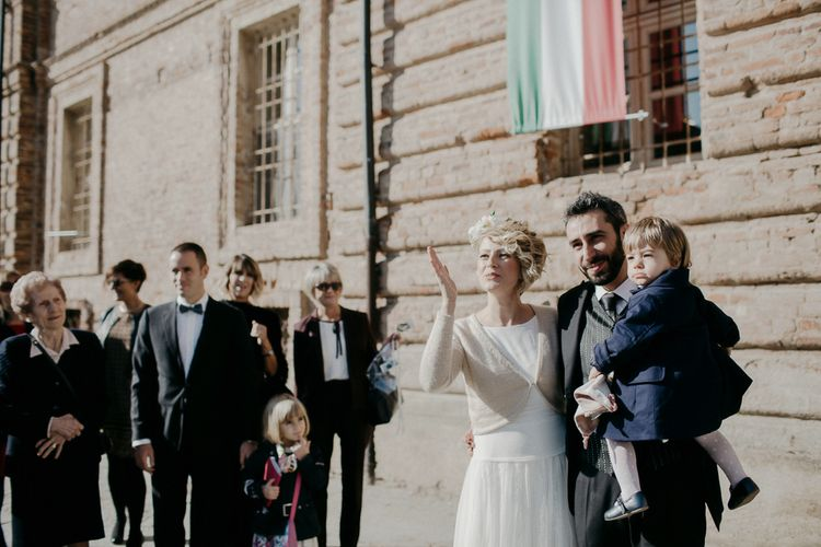 Bride, Groom & Daughter Wedding Ceremony | That Day Wedding Planner | Carla Penoncelli Photography