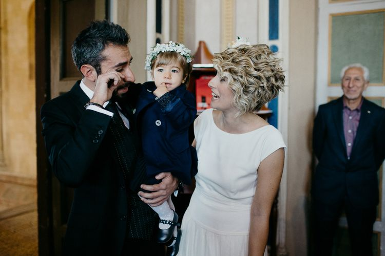 Wedding Ceremony | Bride in Rembo Styling Dress & Groom | That Day Wedding Planner | Carla Penoncelli Photography