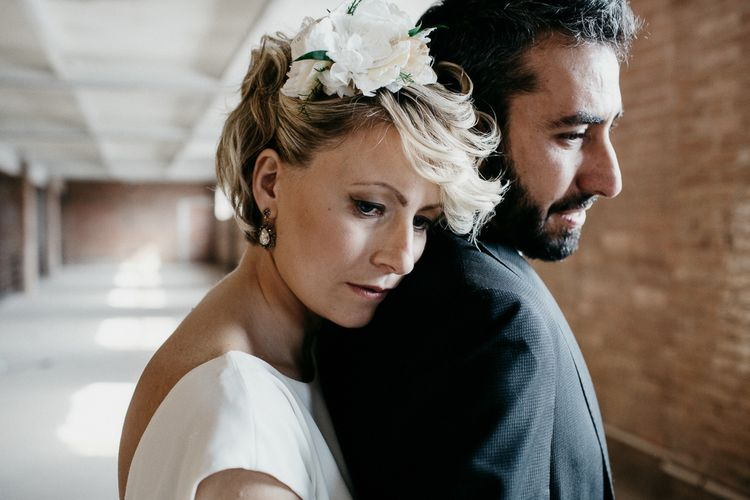 Bride in Rembo Styling Dress & Groom | That Day Wedding Planner | Carla Penoncelli Photography