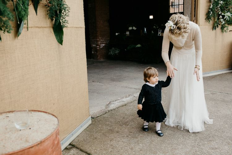 Mother & Daughter | Bride in Rembo Styling Dress & Groom | That Day Wedding Planner | Carla Penoncelli Photography