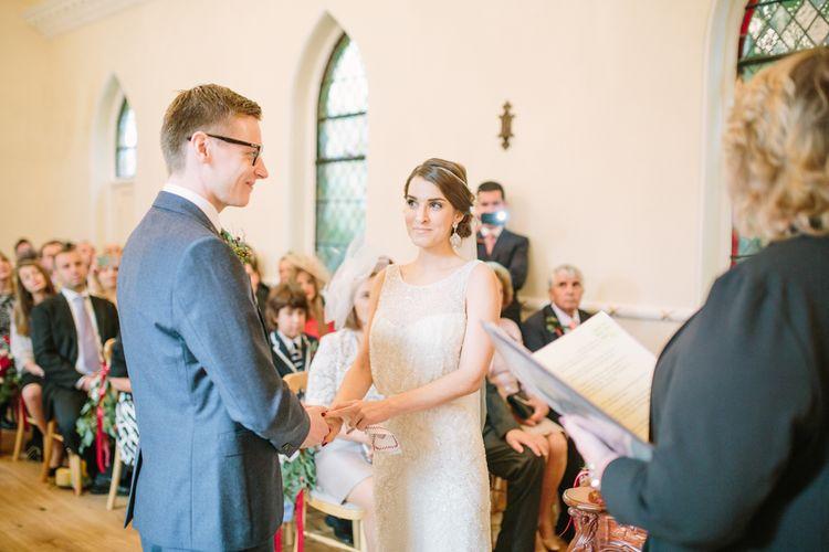 Bride & Groom Wedding Ceremony - Vows