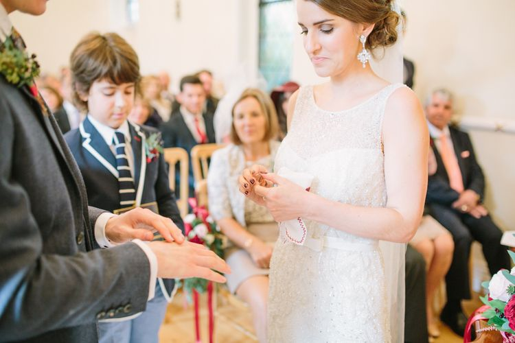 Wedding Ceremony - Exchanging Rings