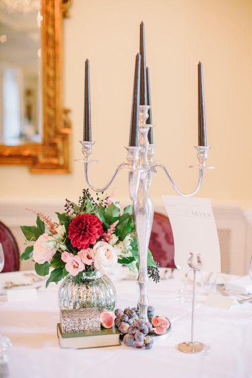 Elegant Candelabra Table Centrepiece
