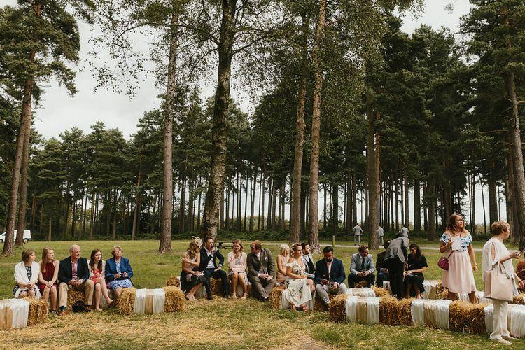 Outdoor Wedding Ceremony Handfasting