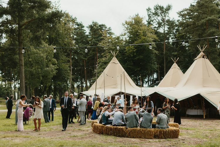 Glamping Wedding With Handfasting Ceremony