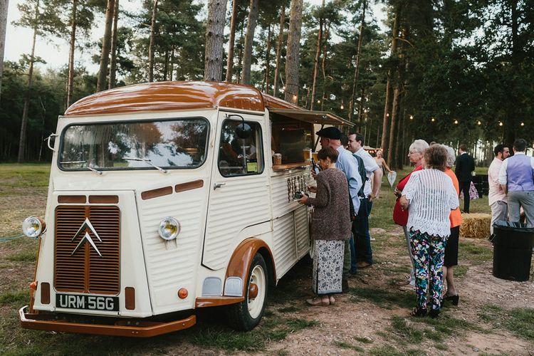 Food Truck At Wedding