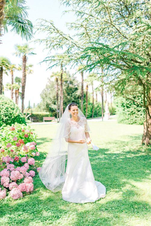 Bride on Heidi Elnora Bridal Gown