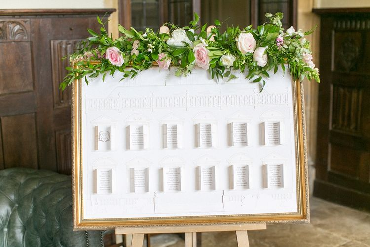 Table Plan For Wedding With Lift The Flap Doors