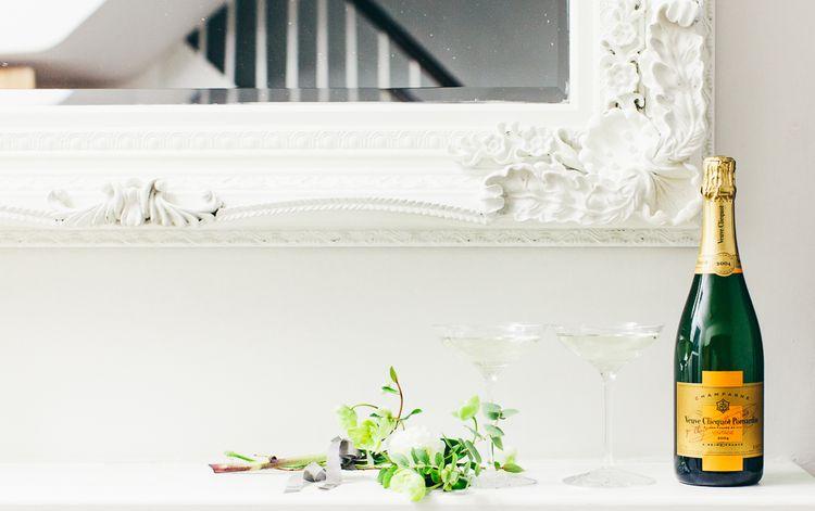 Elegant Champagne Coupes