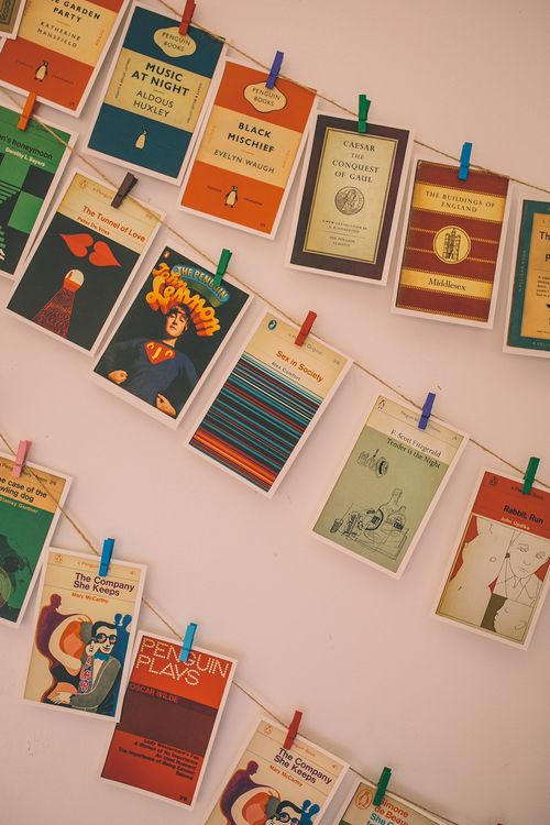 Penguin Classic Book Cover Wedding Favours
