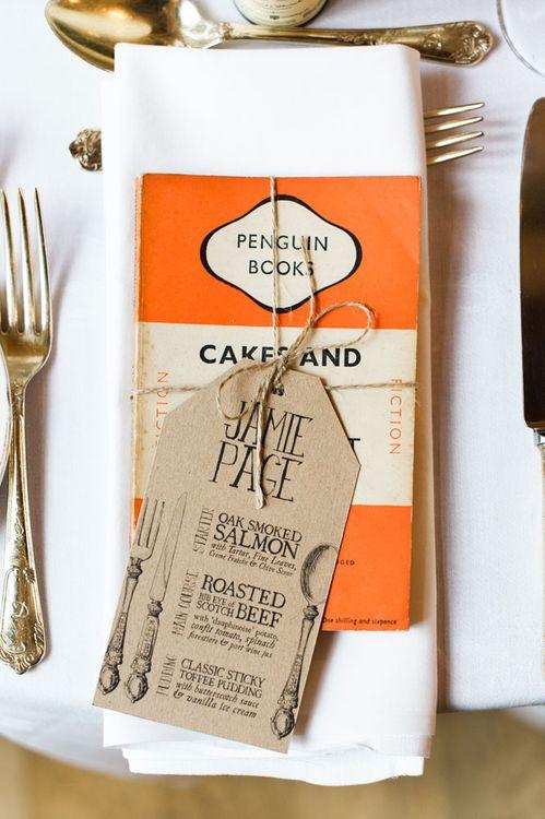 Penguin Classic Book Wedding Favours