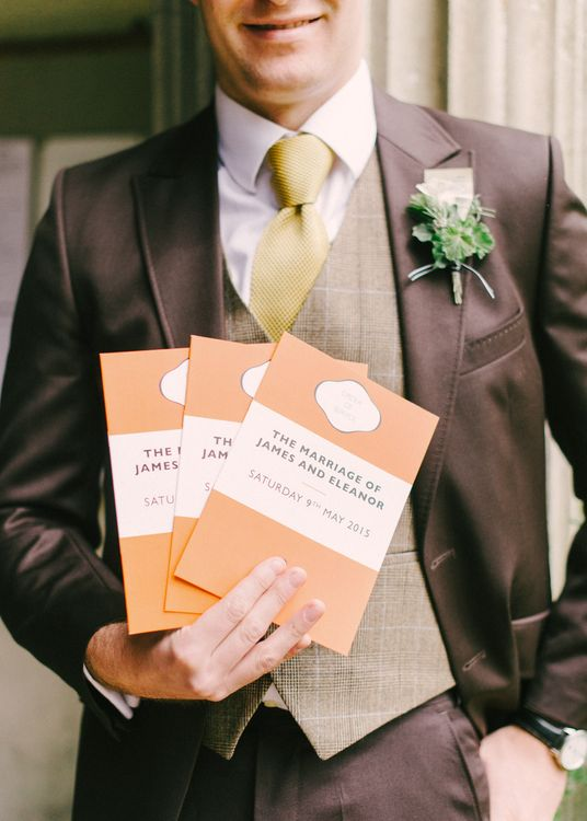 Wedding Stationery Based On Penguin Classic Book Cover