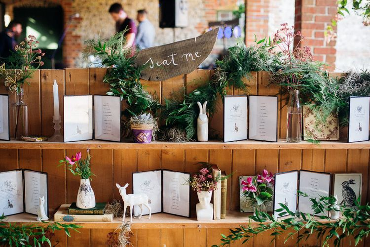 Wedding Table Plan For Book Lovers