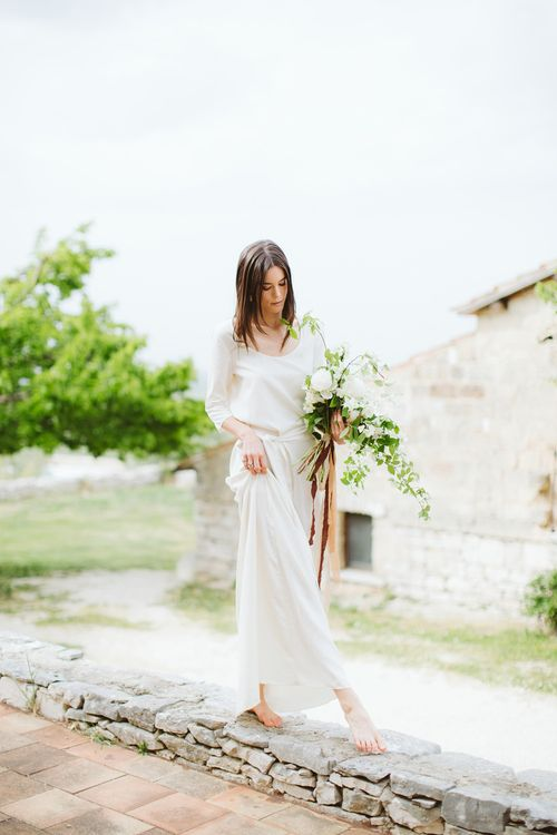 Bride in Alessia Baldi Gown | Cristina Firotto Event Design | Valentina Oprandi Photography